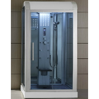 "Mesa WS-500L 47""x35""x85"" Walk In Steam Shower Unit"