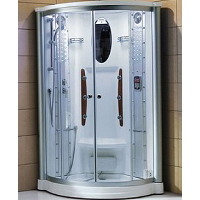 "Mesa WS-801A 42""x42""x85"" Walk In Steam Shower Unit"