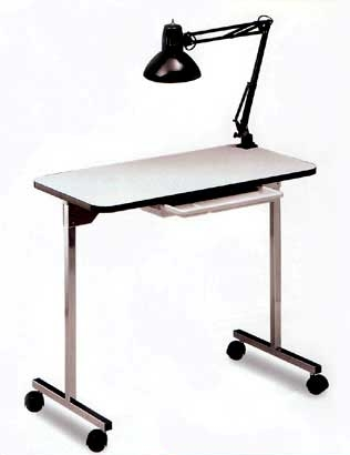Portable manicure table for Folding nail technician table