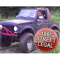 Suzuki Samurai Fully Street Legal Rock Crawler Jeep