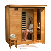 4-5 Person Sauna with Carbon Heaters