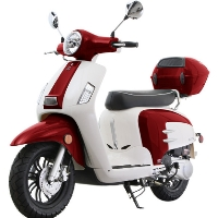 150cc Super Sport Retro Moped Scooter T24 Limited Edition