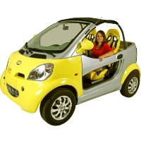 Kandi Coco 250cc Gas Powered 100% Street Legal Vehicle