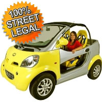 Kandi Coco Fully Electric 100% Street Legal Vehicle