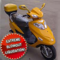 150cc Sunshine Slingshot Moped Scooter - (EXTREME BLOWOUT!)