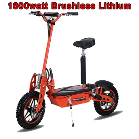 Folding Electric Scooter >> 48v 1800w Super Brushless Lithium Stand Up Sit Down Folding