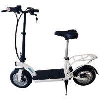 Smart Urban 500 watt Lithium Electric Scooter w/ Seat & Luggage Rack