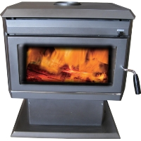 2013 3,000 SQ/FT Modern Design Wood Burning Fireplace Stove Furnace Heater