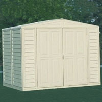Duramax 8x8 DuraMate Vinyl Shed + Foundation