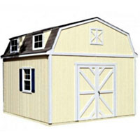 High Quality Farmland 12' x 16' Garden Tool Shed Kit