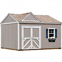 High Quality Primrose 12' x 12' Garden Tool Shed Kit