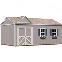 High Quality Primrose 12' x 16' Garden Tool Shed Kit