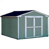 High Quality Provincial 10' x 8' Garden Tool Shed Kit