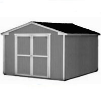High Quality Provincial 10' x 12' Garden Tool Shed Kit