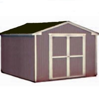 High Quality Provincial 10' x 16' Garden Tool Shed Kit