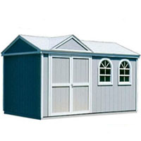 High Quality Tudor 10' x 16' Garden Tool Shed Kit