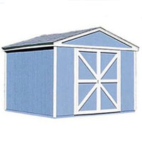High Quality Tudor 10' x 12' Garden Tool Shed Kit