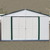 Duramax 10x8 Outdoor Teton Storage Shed with Foundation