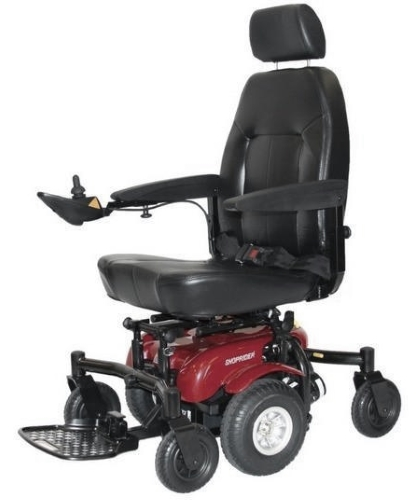 Shoprider Midwheel Drive Power Chair Power Travel Mobility Wheelchair - 6Runner 10  sc 1 st  SaferWholesale & Shoprider Midwheel Drive Power Chair Power Travel Mobility ...