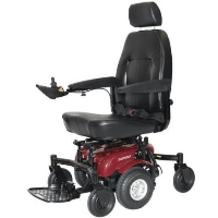 Shoprider Midwheel Drive Power Chair Power Travel Mobility Wheelchair - 6Runner 10