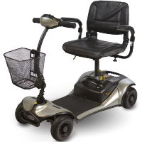 Shoprider Dasher 4 Four Wheel Color Interchangeable Personal Travel Scooter GK8