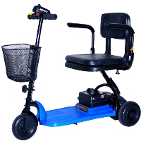 Shoprider Echo 3 Wheel Personal Travel Mobility Scooter - SL73