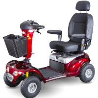 Shoprider Enduro XL3 Plus Personal 3 Wheeled Travel Mobility Scooter - 778XLSBN