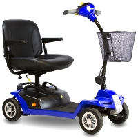 Shoprider Escape Portable Four Wheel Personal Travel Scooter - 7A