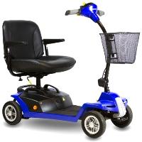 Shoprider Escape Portable Four Wheel Personal Travel Scooter - 7A