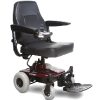Shoprider Portable Lightweight Power Travel Mobility Wheelchair - Jimmie