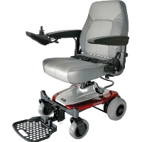 Shoprider Rear Wheel Drive Power Chair Portable Travel Mobility Wheelchair - Smartie