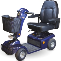Shoprider Sunrunner 4 Personal Four Wheeled Travel Mobility Scooter - 888B-4