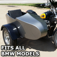 BMW RocketTeer Old School Biker Side Car Motorcycle Sidecar Kit