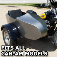 Can-Am RocketTeer Old School Biker Side Car Motorcycle Sidecar Kit