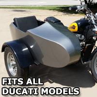 Can-Am RocketTeer Old School Biker Side Car Motorcycle Sidecar Kit