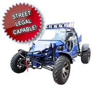 1000cc Super Sand Sniper Go Kart - 2 Seater & Street Legal Capable!