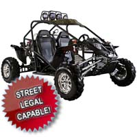 600cc Cherry Bomb 4 Stroke Go Kart - Street Legal Capable!