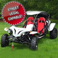500cc Dune Buster Go Kart 4 Stroke Dune Buggy - Street Legal Capable!