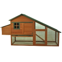"Brand New 87"" x 29"" x 46"" Chicken Coop With Hen House"