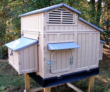 64 x 39 x 42 big chicken coop house for Maintenance free chicken coop