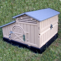 "42"" x 39"" x 29"" Small Chicken Coop House"