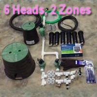 Brand New DIY 2 Zone Lawn Sprinkler Kit Version 1