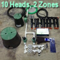 Brand New DIY 2 Zone Lawn Sprinkler Kit Version 3
