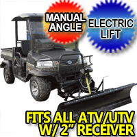 "Snowbear ATV UTV Snow Plow 72"" - Model 324-110"
