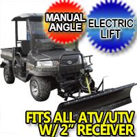"Snowbear ATV UTV Snow Plow 72"" - Model 324-110"