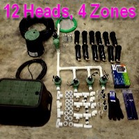 Brand New DIY 4 Zone Lawn Sprinkler Kit Version 1