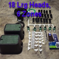 Brand New DIY 6 Zone Lawn Sprinkler Kit Version 1