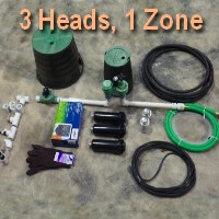 Brand New 1 Zone Lawn Sprinkler Kit Version 2