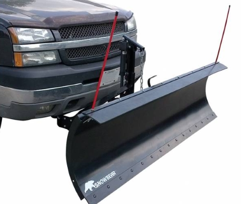 84 Snowbear Proshovel Electric Snow Plow With Manual Angle