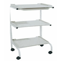 Salon Three Shelf Trolley Cart